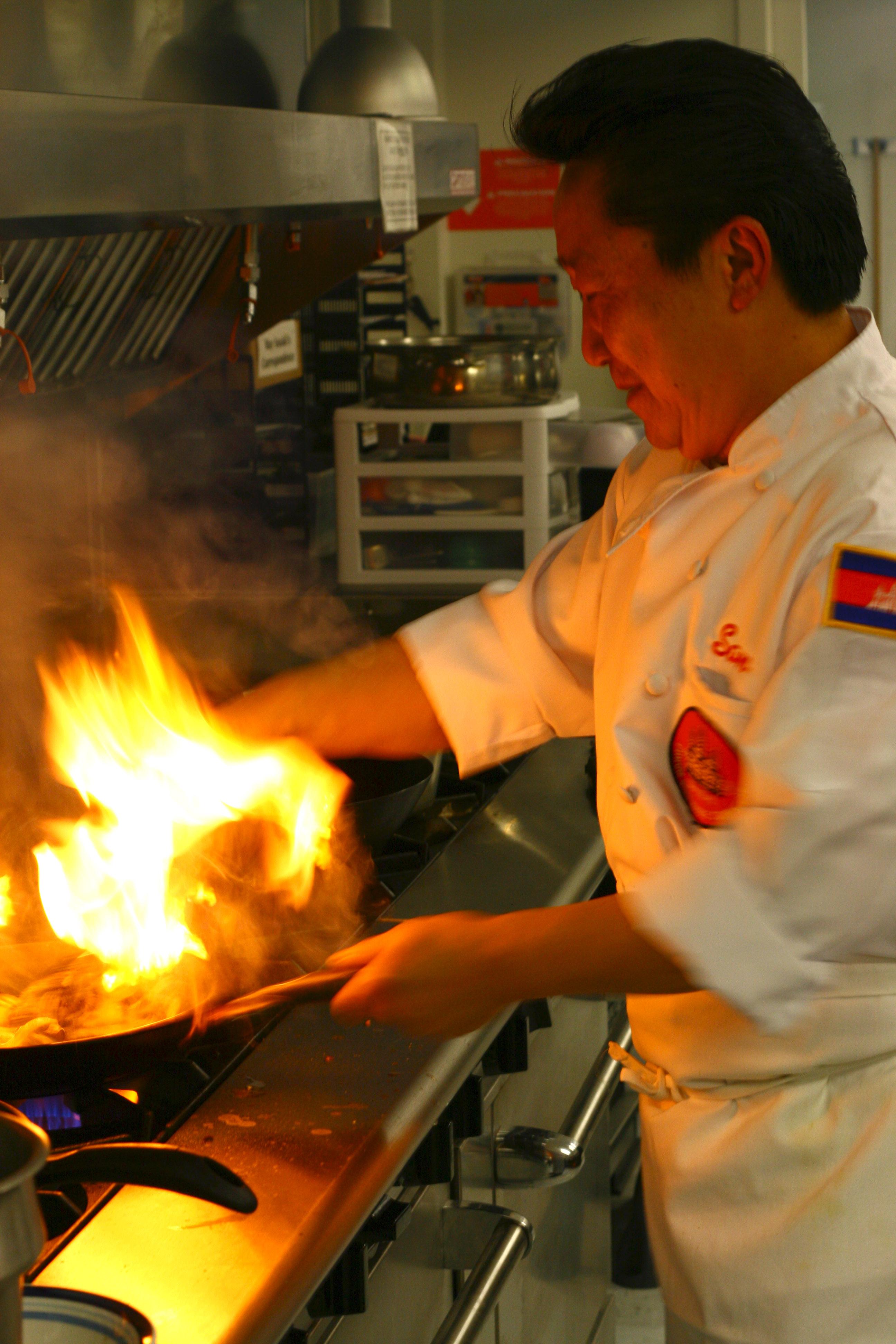 Chef Sam Ung